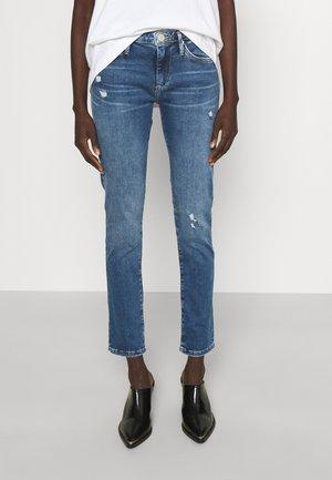 CORA TRUEFLEX - Jeans Skinny Fit - blue denim