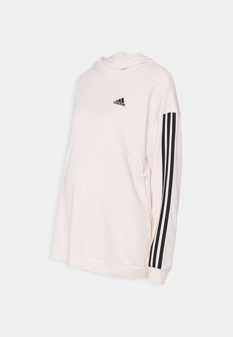adidas Performance - MATERNITY - Sweater - white/black