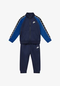 Nike Sportswear - TRICOT TAPING SET - Chándal - midnight navy - 3
