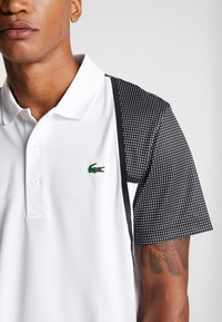 Lacoste Sport - DH4776  - Sports shirt - white/black - 3