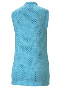 Puma Golf - CLOUDSPUN SLEEVELESS POLKA - Top - scuba blue-navy blazer - 1