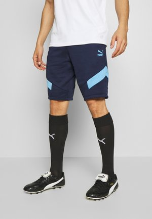 MANCHESTER CITY ICONIC SHORTS - kurze Sporthose - peacoat/team light blue
