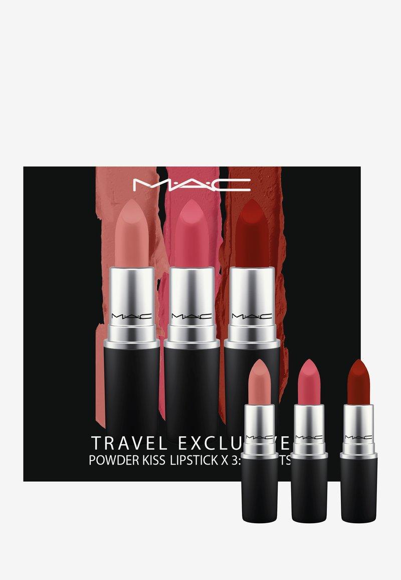 MAC - POWDER KISS LIPSTICK SET - Palette pour les lèvres - brights