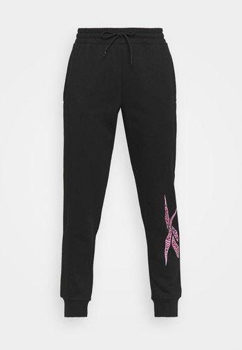 MODERN SAFARI JOGGER - Pantaloni sportivi - black