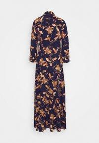 YAS Tall - YASSAVANNA FLORA LONG DRESS - Maxi dress - black - 1
