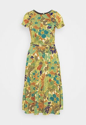 BETTY PARTY DRESS SAN FELIPE - Trikoomekko - ceylon yellow