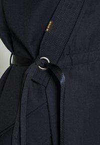 G-Star - WRAP BELTED DRESS - Jurk - naval blue - 7