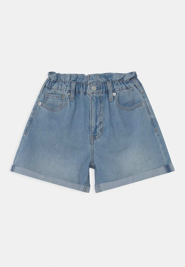 GIRL MOM - Shorts di jeans - light-blue denim
