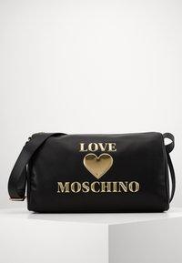 Love Moschino - BORSA - Sac week-end - black - 1
