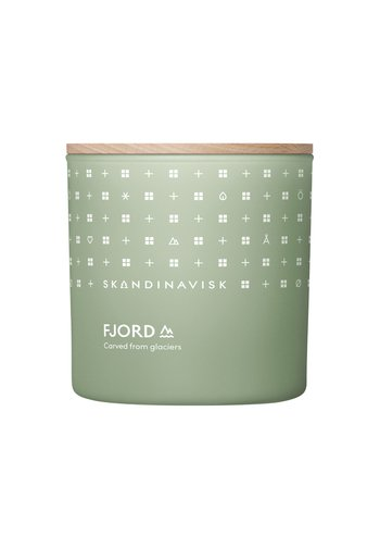 SCENTED CANDLE WITH LID - Scented candle - fjord