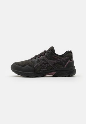 GEL-VENTURE 8 WP - Løpesko for mark - black/grape