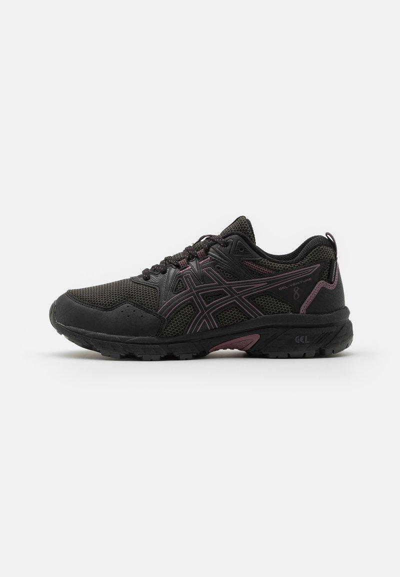 ASICS - GEL-VENTURE 8 WP - Trail running shoes - black/grape