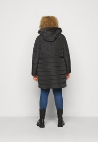 CAPSULE by Simply Be - LUXE LONGLINE PADDED COAT - Winter coat - black - 2