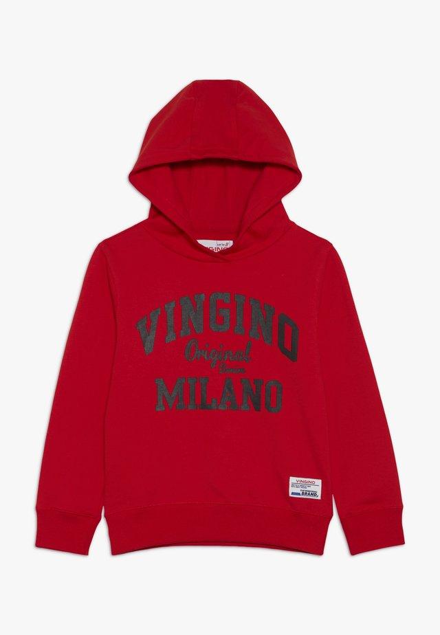 MUMFRY - Hoodie - flame red
