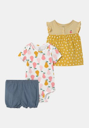 PEAR SET - Triko s potiskem - yellow/multi-coloured