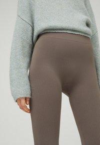 PULL&BEAR - Leggings - grey - 3