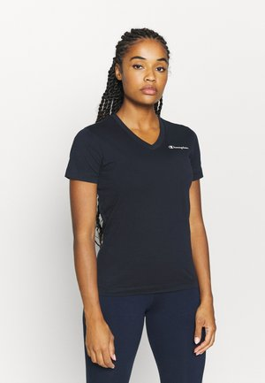 V-NECK LEGACY - T-shirts basic - dark blue