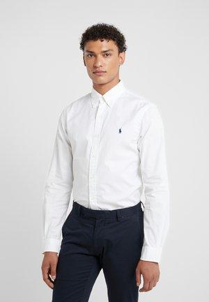 SLIM FIT - Shirt - white