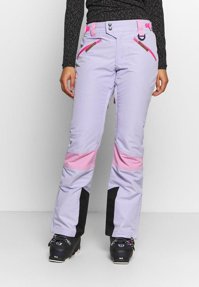 1080 WOMENS PANT - Talvihousut - lilac
