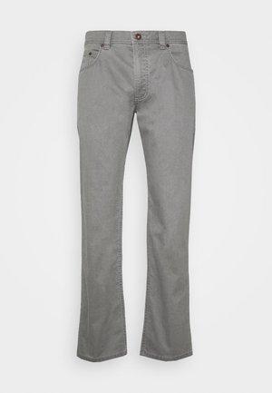 BROKEN TWILL TROUSER - Trousers - grey