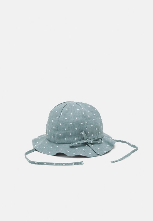 MINI FLAPPER UNISEX - Bonnet - mint/white