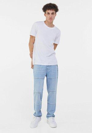 REGULAR - T-shirt - bas - white