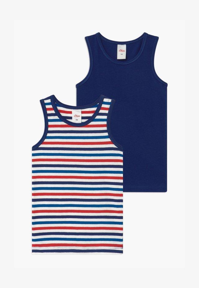 2 PACK - Undershirt - royal blue