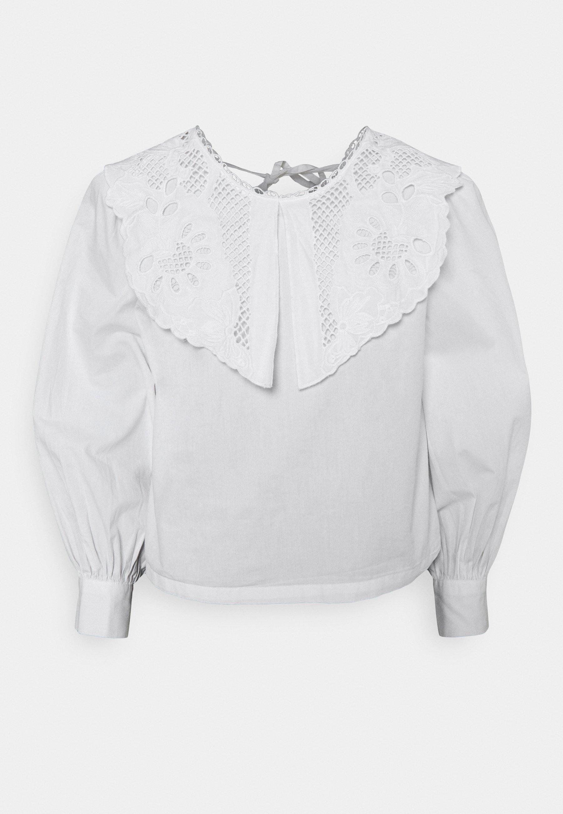 Women ONLJANE COLLAR - Long sleeved top