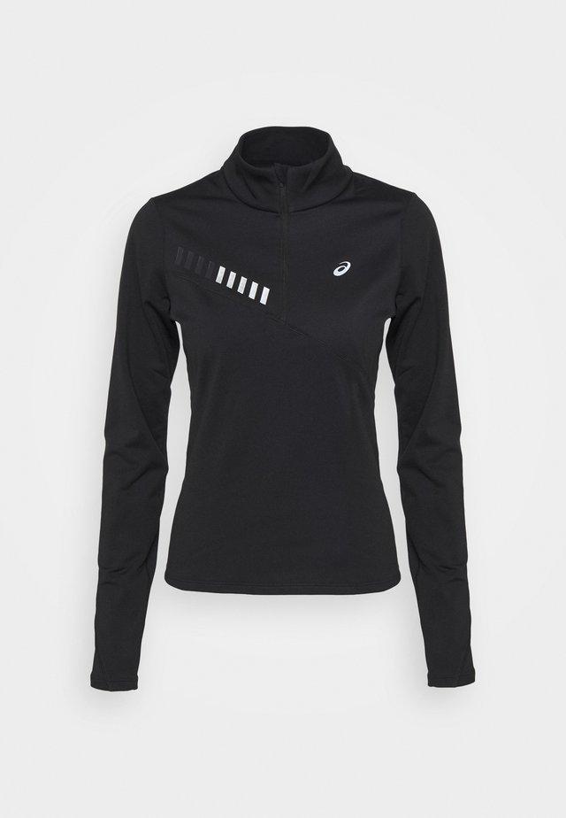LITE SHOW WINTER ZIP - Sportshirt - performance black/graphite grey