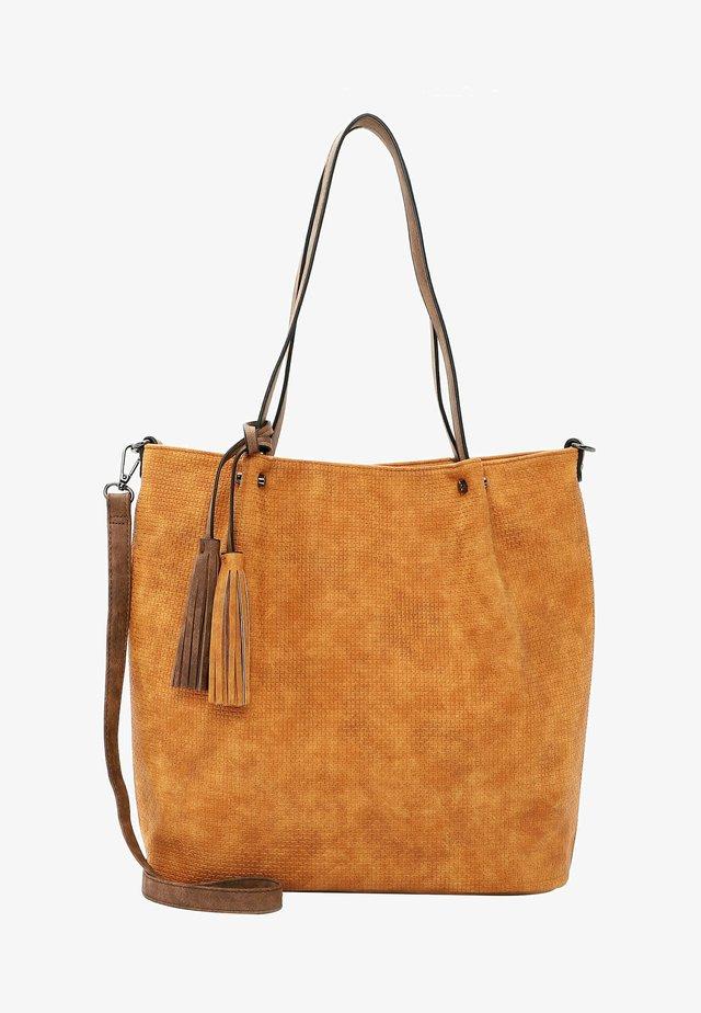 SURPRISE - Shopping bag - orange brown