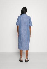 JDY - JDYPOPPY LIFE LONG DRESS - Maxi dress - medium blue denim - 2