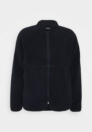 PUZZLE ZIP - Fleece jacket - navy