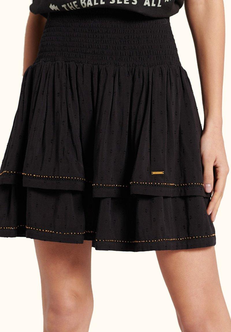 Superdry - AMEERA - A-line skirt - black