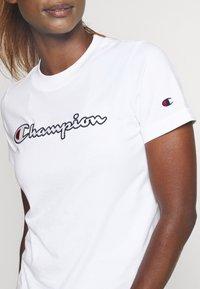 Champion - CREWNECK ROCHESTER - Camiseta estampada - white - 4