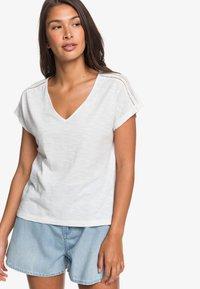 Roxy - STARRY DREAM - Basic T-shirt - snow white - 0