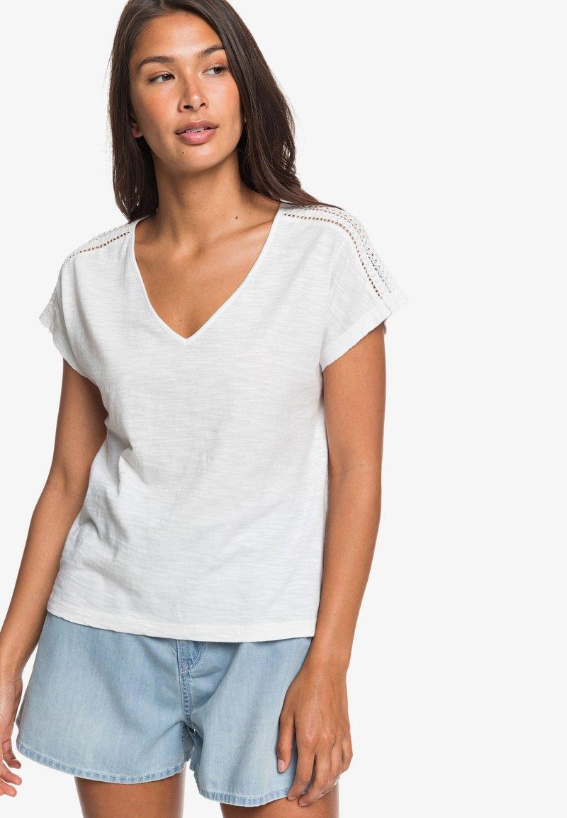 Roxy - STARRY DREAM - Basic T-shirt - snow white