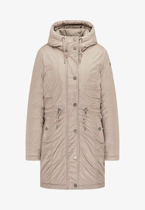 Zimní kabát - steingrau