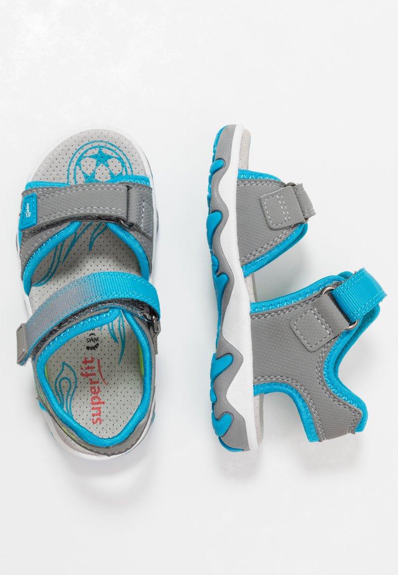 Superfit - MIKE 3.0 - Chodecké sandály - grau