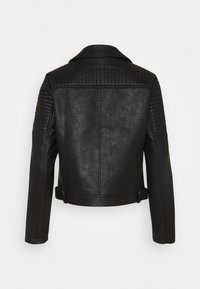 Pepe Jeans - SUSANE - Faux leather jacket - black - 1