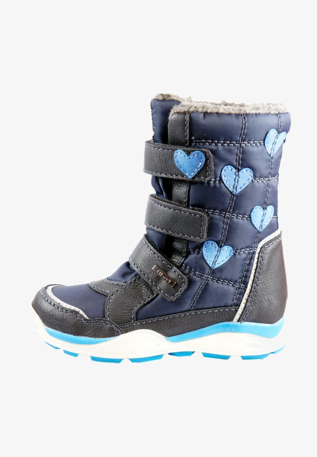 Winter boots - black blue