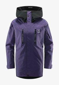 purple rain/true black