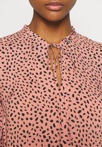 Even&Odd - Maxi dress - pink/black - 5
