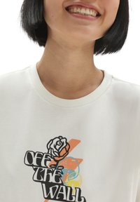 Vans - WM OFF THE GRID OS S/S - Print T-shirt - marshmallow - 2