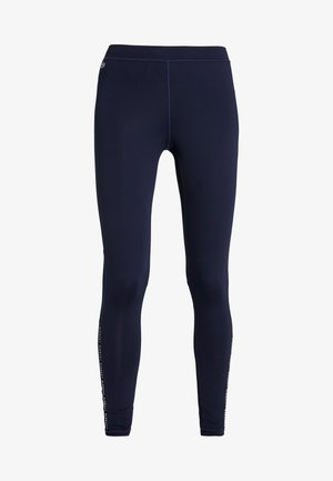Tights - navy blue/white
