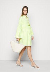 CECILIE copenhagen - SOUZARICA - Day dress - avocado green - 1