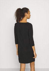 Vila - VILAIA TINNY DRESS - Day dress - black - 2