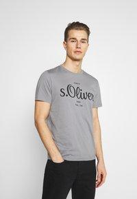 s.Oliver - T-Shirt print - grey - 0