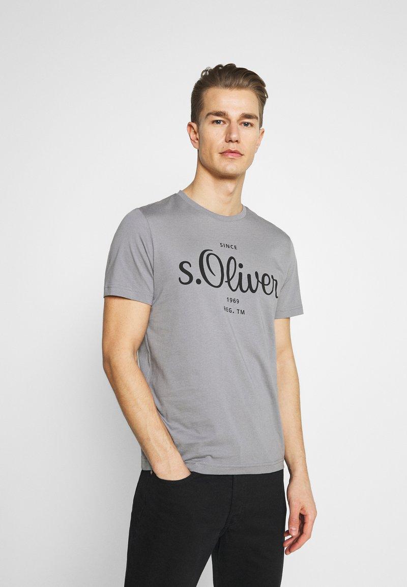 s.Oliver - T-Shirt print - grey