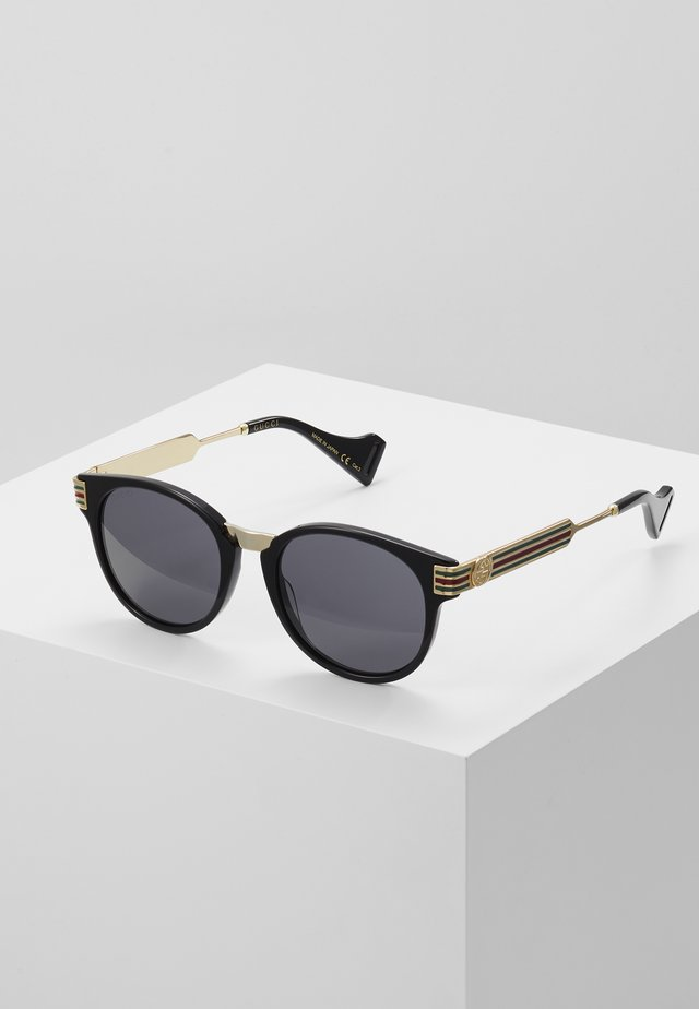 Sunglasses - black/gold/grey
