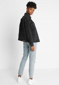 Topshop - SEAM - Denim jacket - washed black - 2